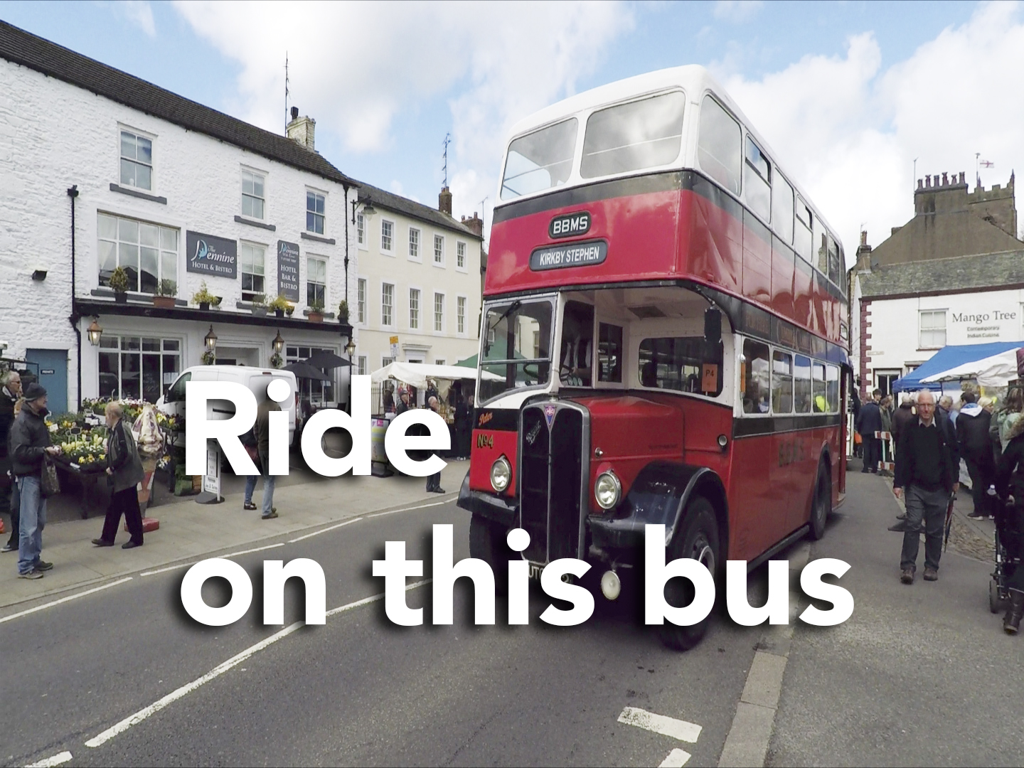 Our first 'Bus Ride' or 'Ride On' Video filmed at Kirkby Stephen - Brough Commercial Vehicle Rally.