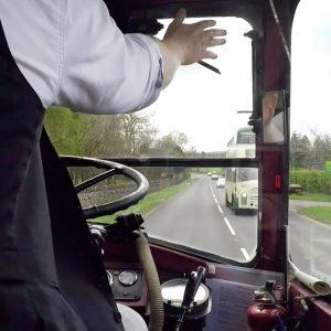 Riding on an AEC Regent