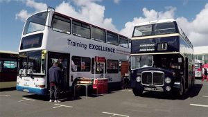 Buses at the Scarborough Bus Fest 2017
