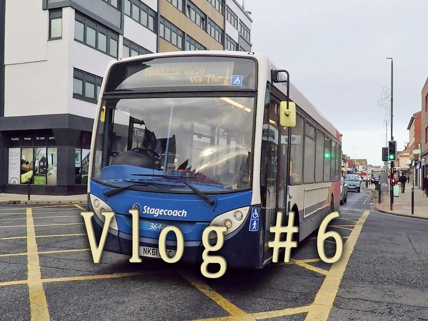 Bus vlog number 6 from Hartlepool, Cleveland.