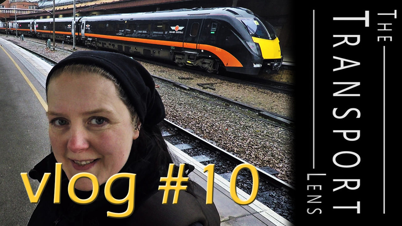 Bus and Train Spotting Vlog at York